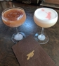 Espresso Martini and Banksy Sour at Canon cocktail bar